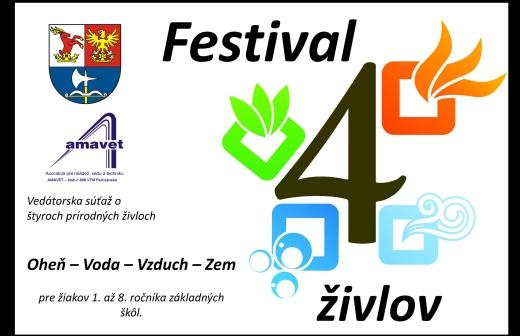 Festival štyroch živlov @ Dom kultúry MUA